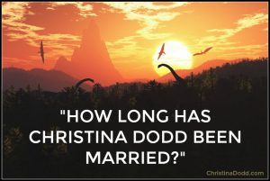 Christina_Dodd_how long married